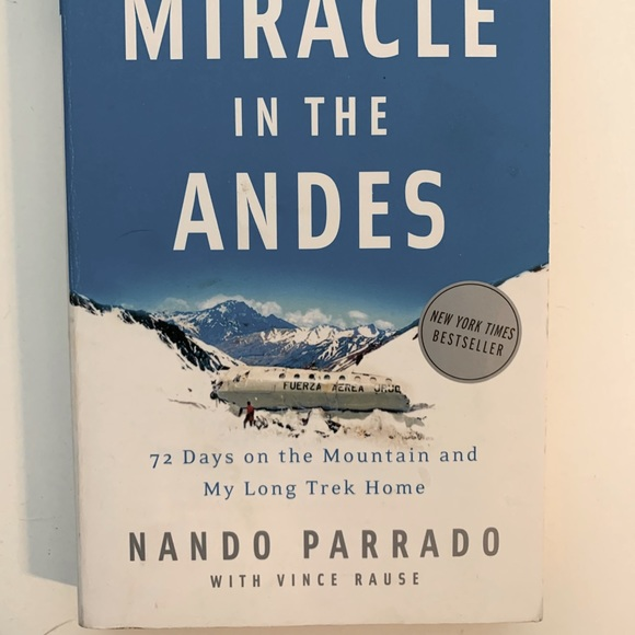 Miracle in the Andes Paperback Book